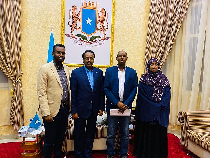 FESOJ and Media Fraternities Have Appealed Somali President Not to Sign the Draconian Media Law After Meeting