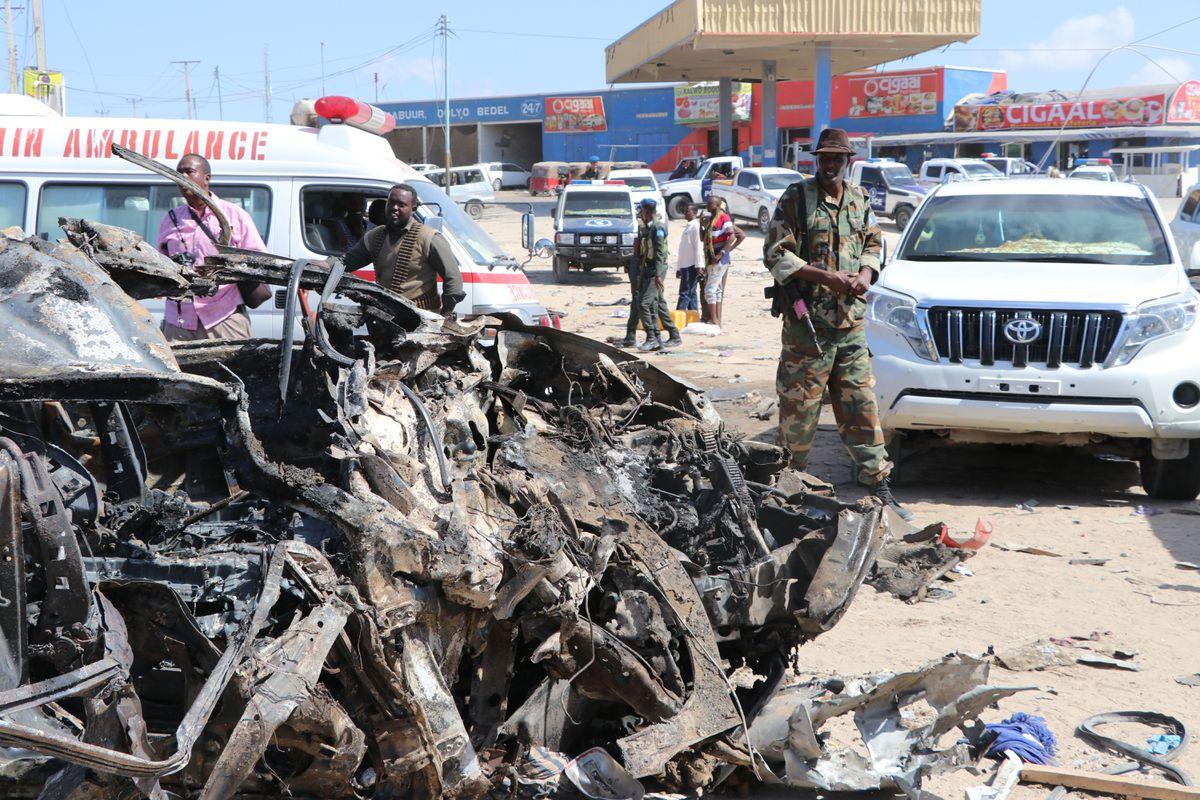 Suicide car explosion in Somalia kills at least 78