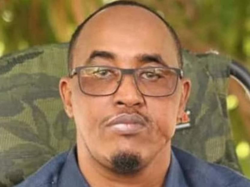 A photo of former security minister of Jubaland in Somalia, Abdirashid Hassan Abdinur. COURTESY: Amnesty International