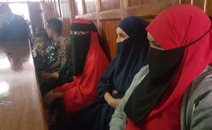 Court detains 43 terror suspects