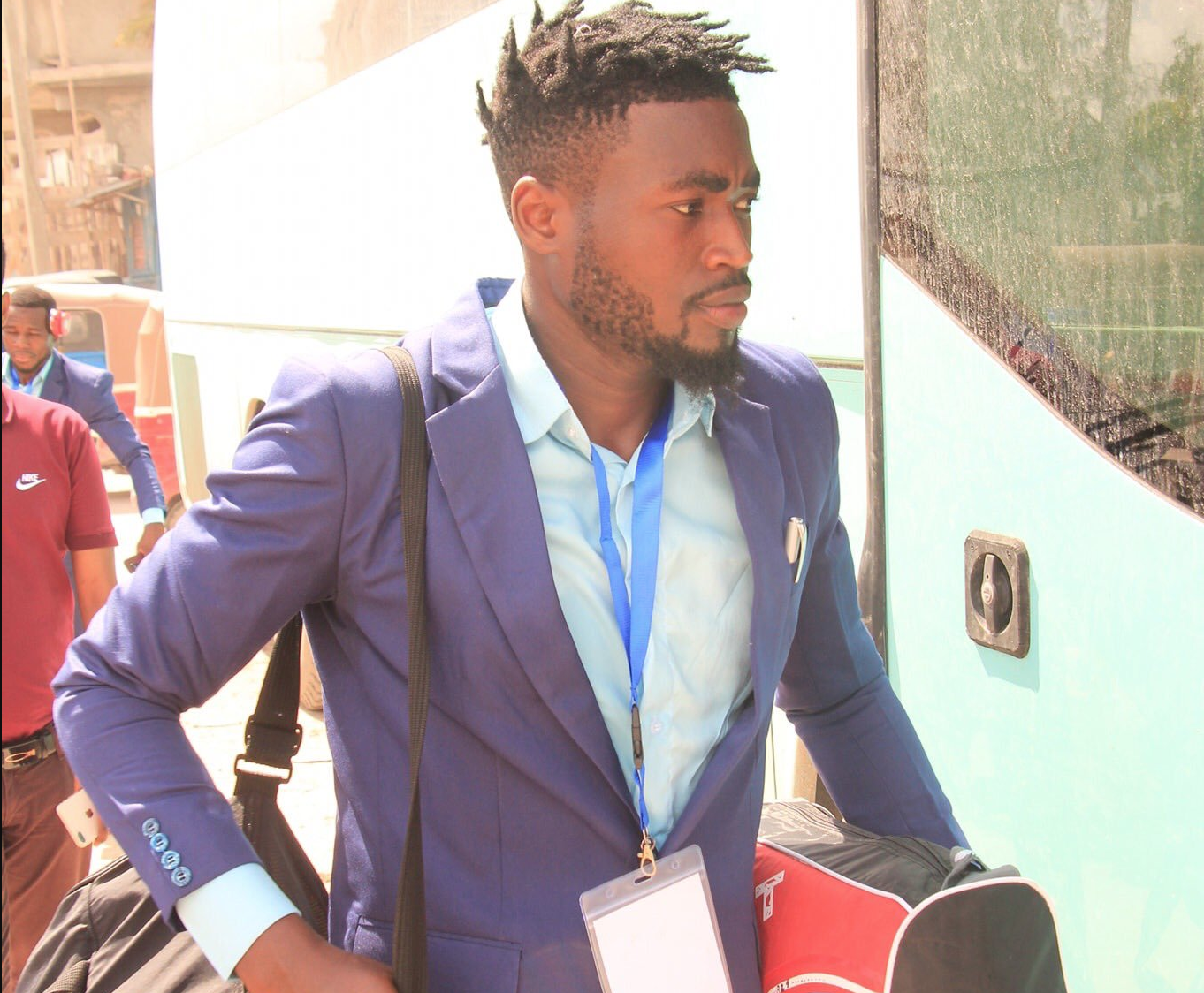 Former Express player pens deal with Somali club, ready for CAF duty